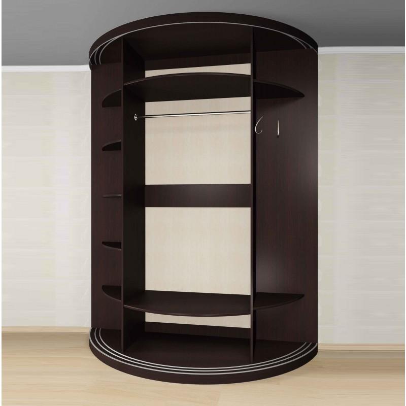 Радиусный шкаф-купе Мебелайн-10 (фото 2)