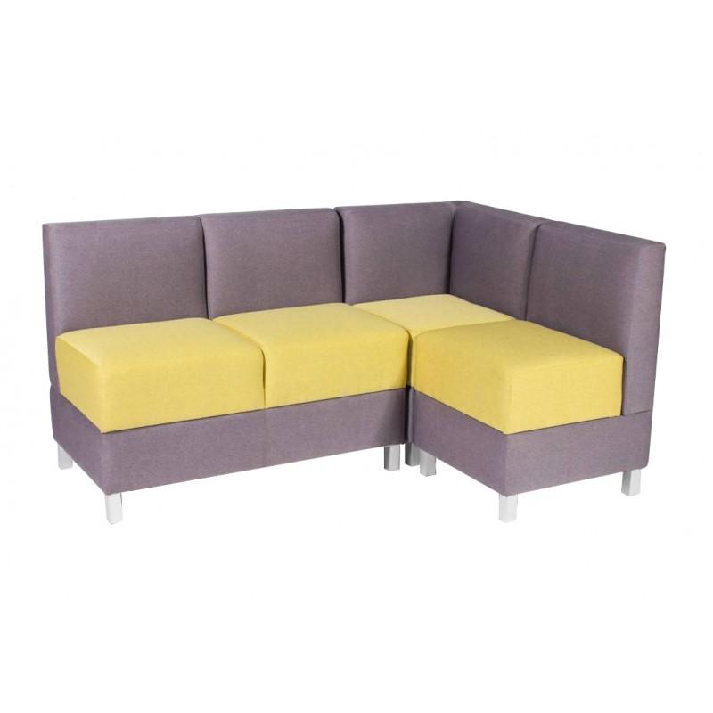 Угловой модульный диван Лион