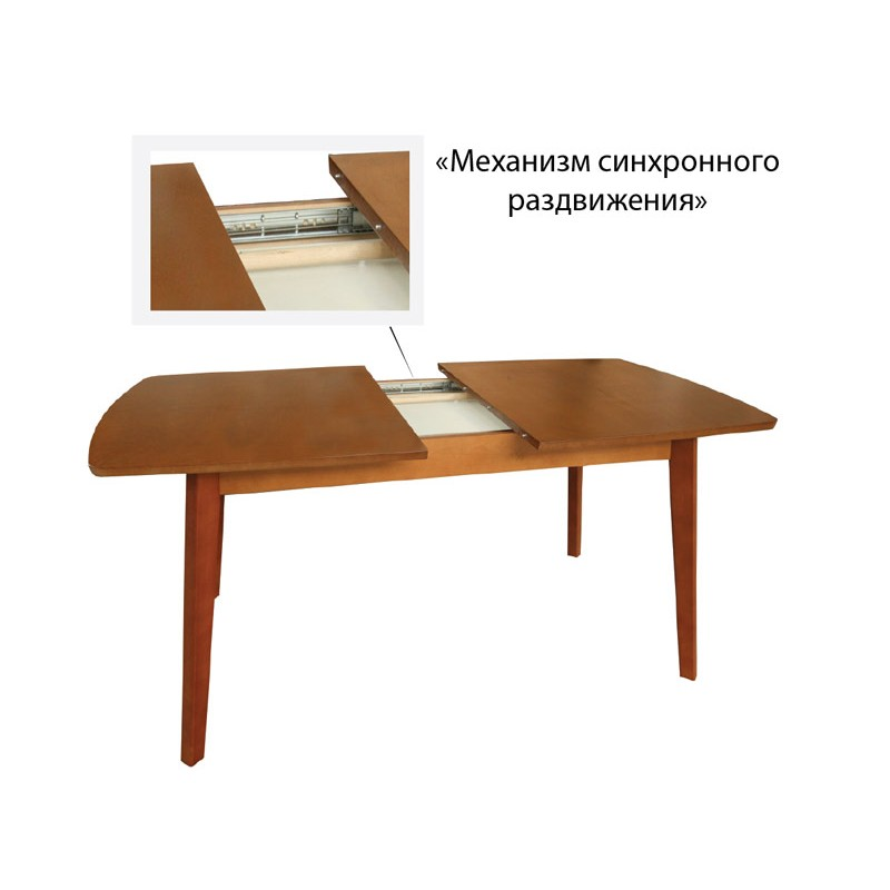 Стол обеденный раздвижной (фото 3)