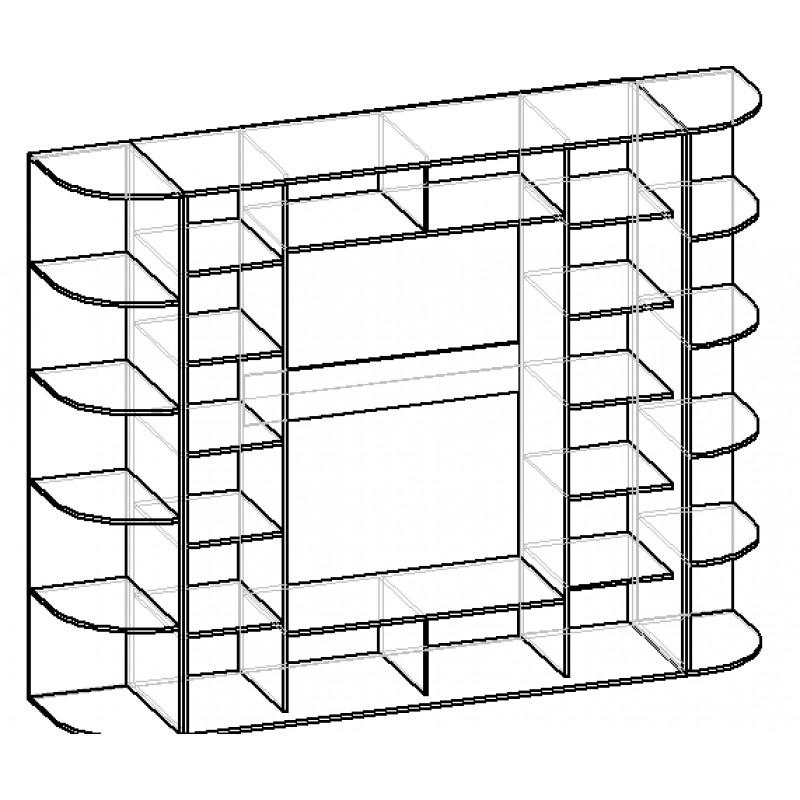 Шкаф-купе Мебелайн-15 (фото 3)