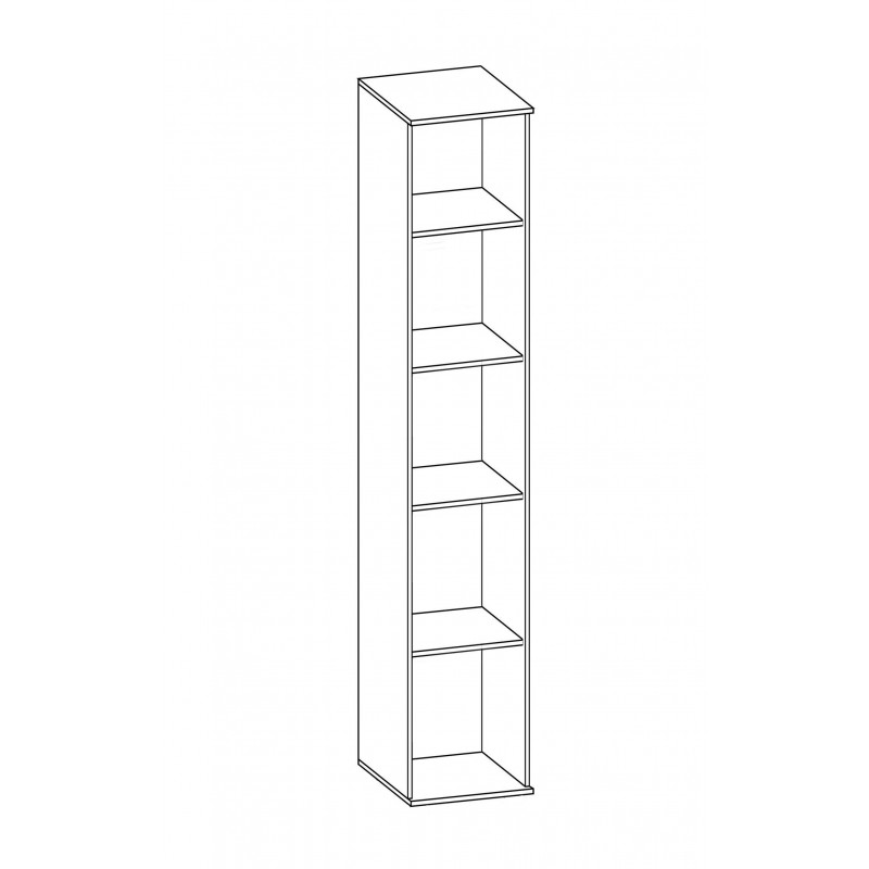 Шкаф для белья №225 (серия МК 52) (фото 2)