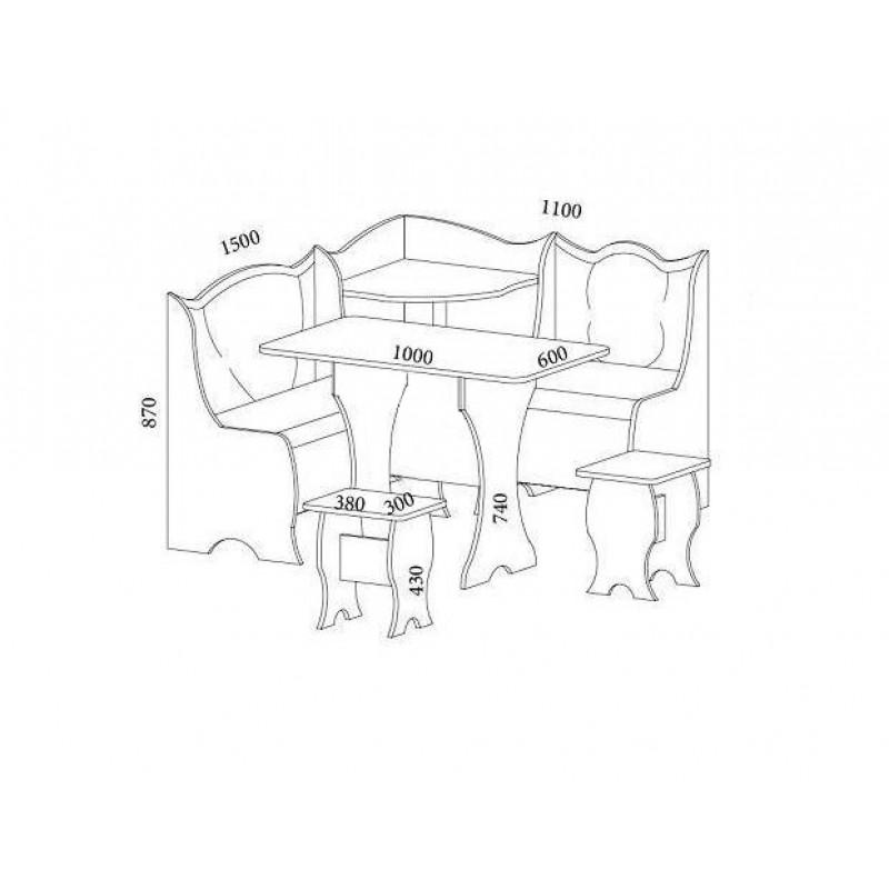 Набор мебели Эффект (фото 2)