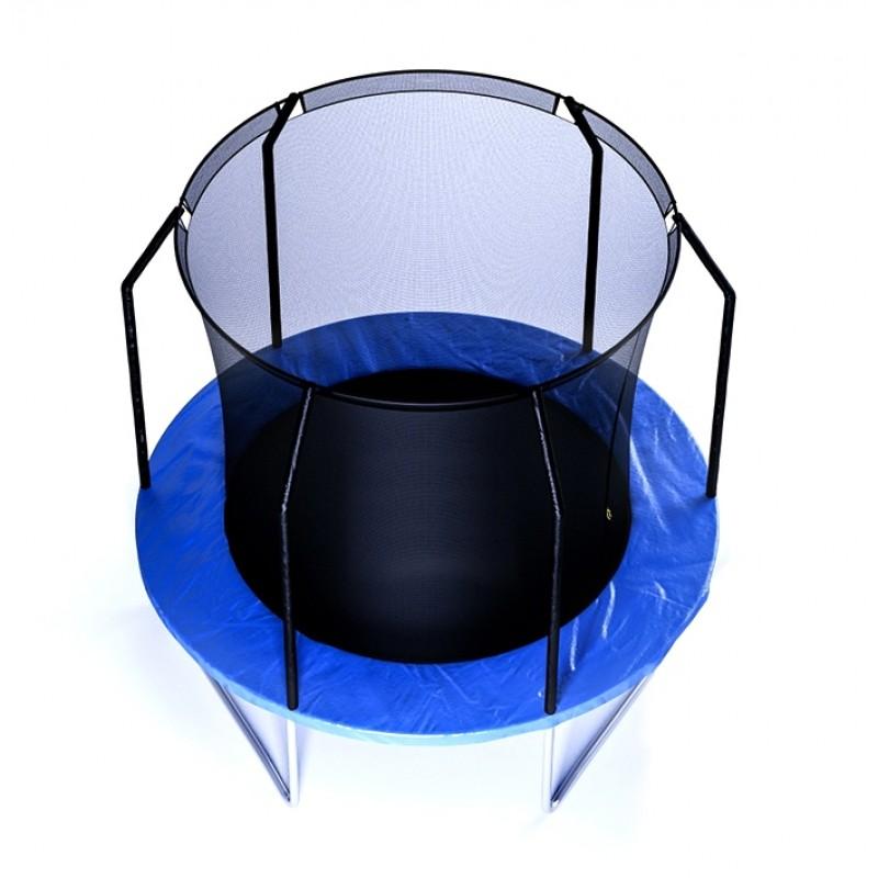 Батут детский с защитной сеткой 8 диаметр 2,4 м Perfetto sport (фото 2)