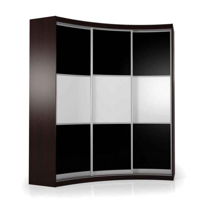 Радиусный шкаф-купе Мебелайн-19
