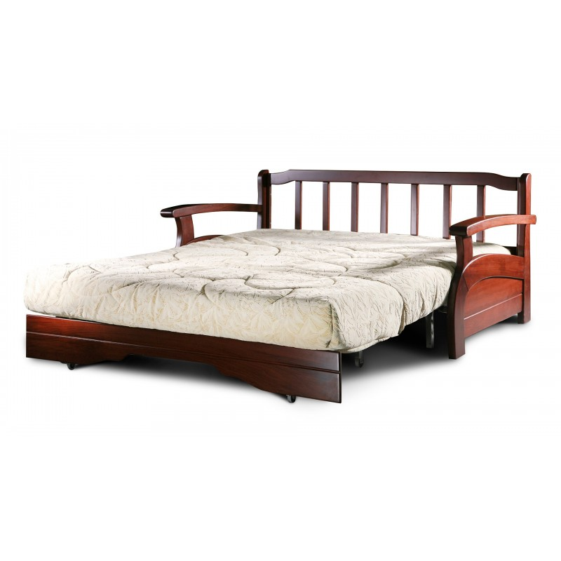 Комплект мягкой мебели Лотос с деревянными подлокотниками (фото 3)