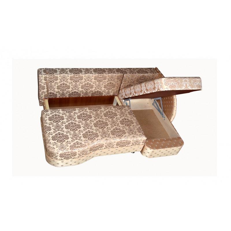 Угловой диван еврокнижка Юнона (фото 3)