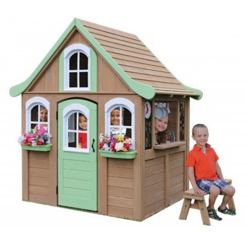 Деревянный домик Джорджия Solowave Design