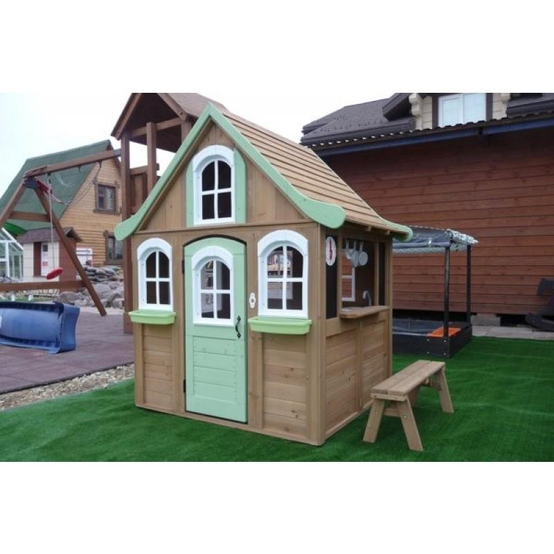 Деревянный домик Джорджия Solowave Design (фото 7)