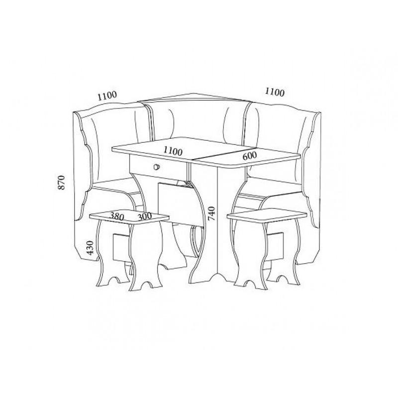 Набор мебели Тандем (фото 2)