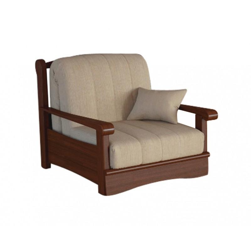 Кресло-кровать Рея с деревянными подлокотниками м112 (фото 2)