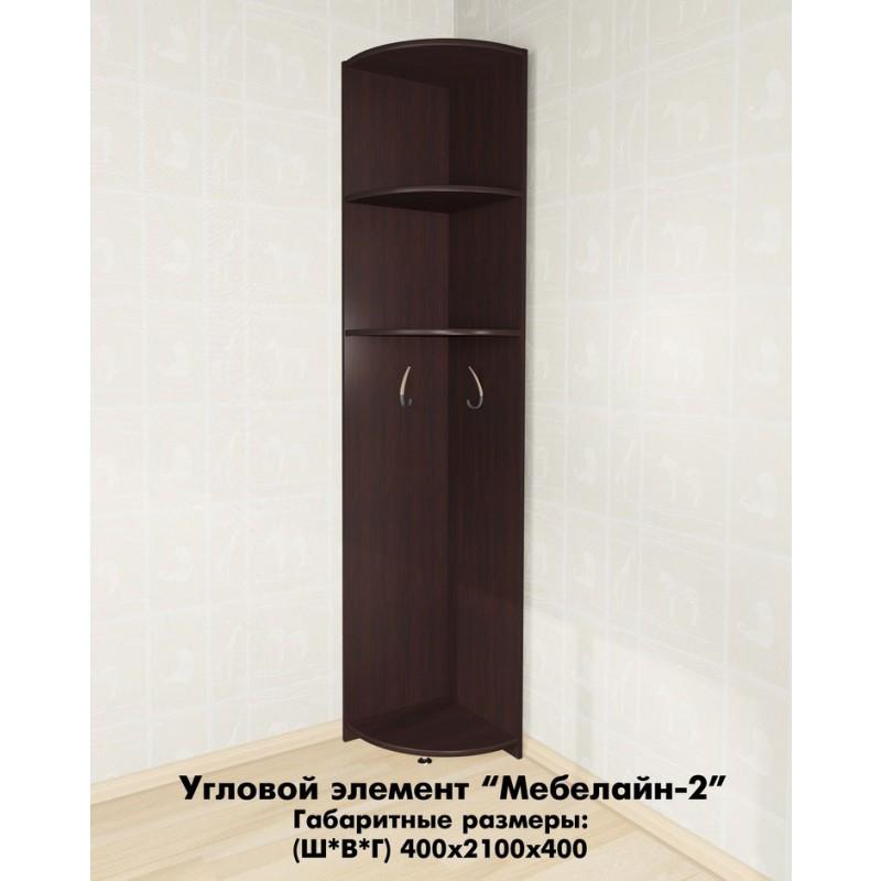 Угловой элемент Мебелайн-2 (фото 2)