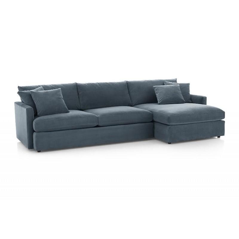 Угловой диван Стелф с оттоманкой (фото 4)