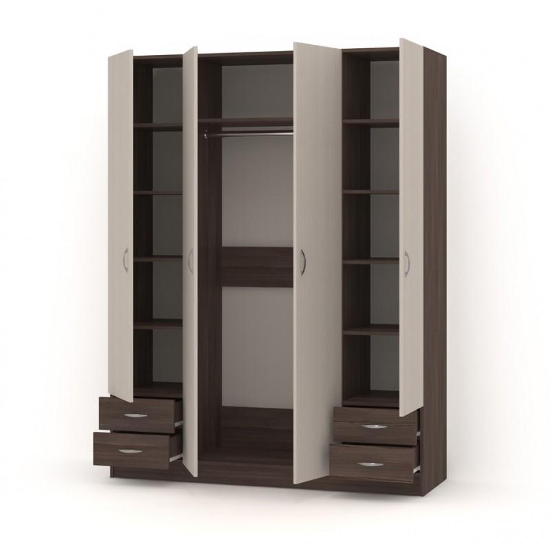 Шкаф распашной РИО-4.3 (фото 2)