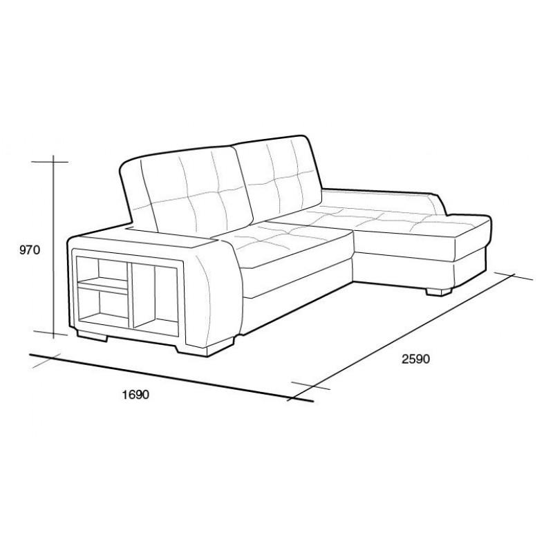 Угловой диван Премьер (фото 7)