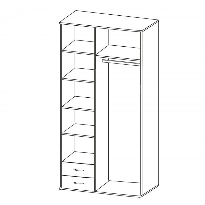 Шкаф Зодиак 3.25 с антресолью (фото 2)