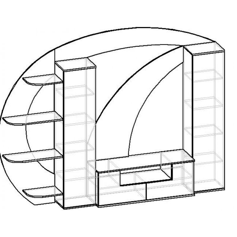 Стенка Мебелайн-13 (фото 3)