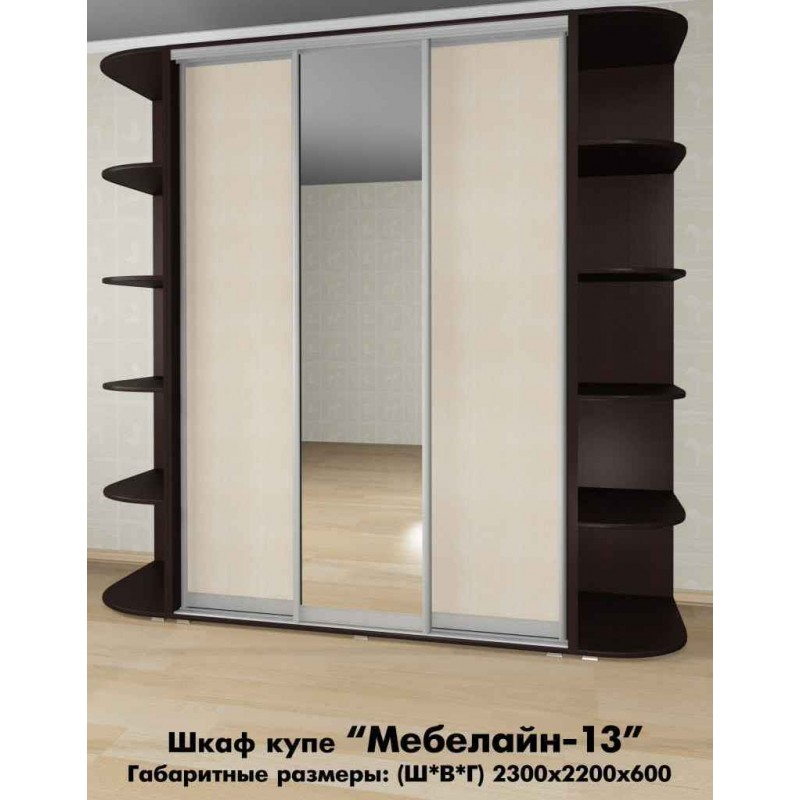 Шкаф-купе Мебелайн-13 (фото 2)