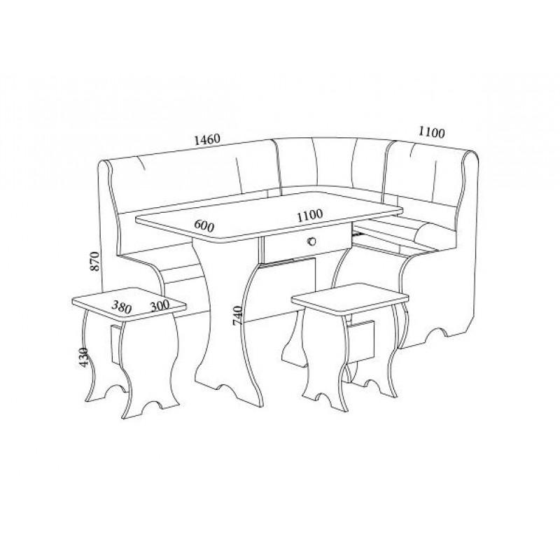 Набор мебели Оптима (фото 2)