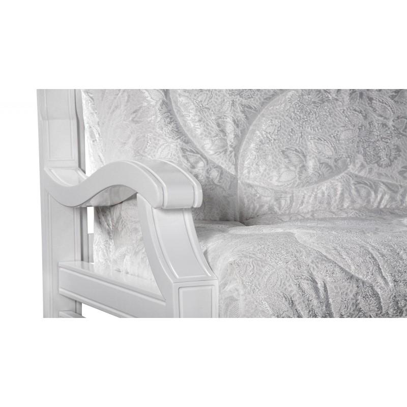 Кресло-кровать Тефия с деревянными подлокотниками (фото 3)