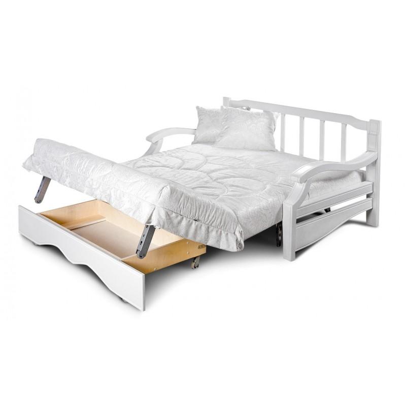Кресло-кровать Тефия с деревянными подлокотниками (фото 4)