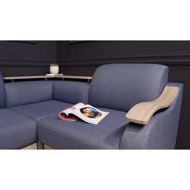 Угловой диван Виза 04 с баром (фото 5)