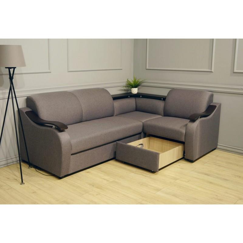Угловой диван Виза 04 с баром (фото 6)