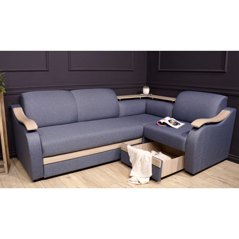Угловой диван Виза 04 с баром (фото 8)