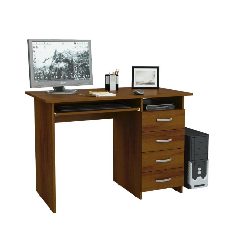 Компьютерный стол Милан-3 с надставкой и колонкой (фото 7)