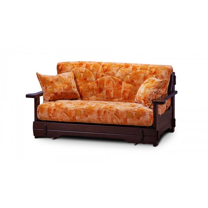 Комплект мягкой мебели Япет с деревянными подлокотниками (фото 2)