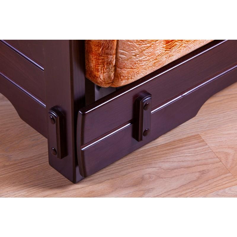Комплект мягкой мебели Япет с деревянными подлокотниками (фото 4)