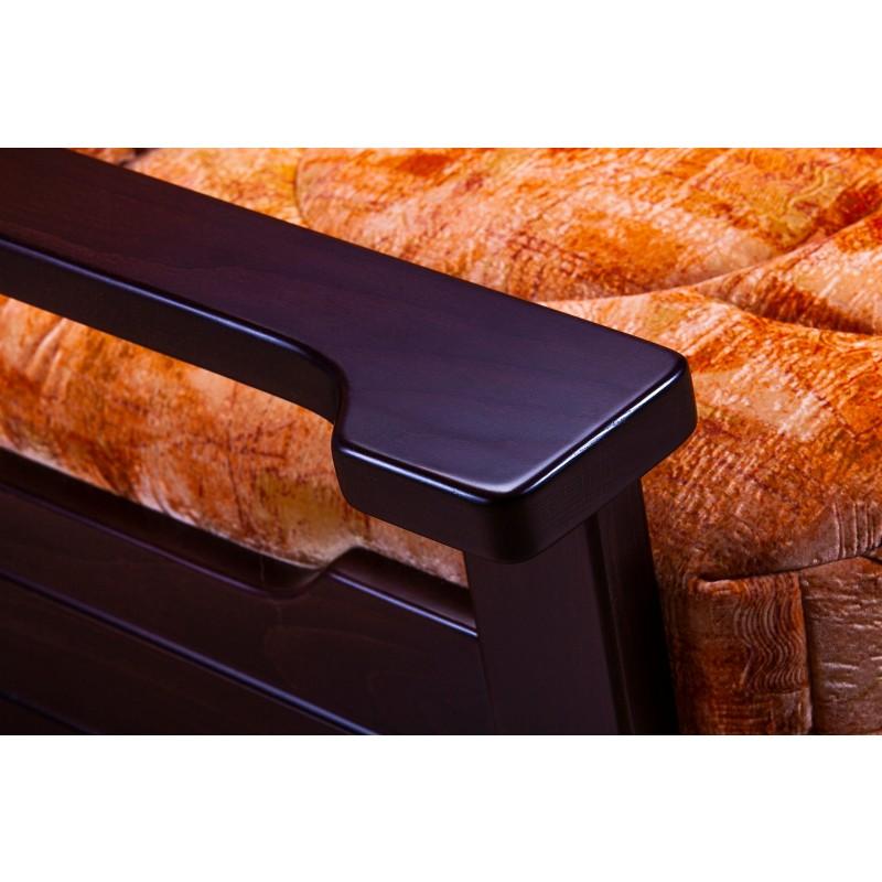 Комплект мягкой мебели Япет с деревянными подлокотниками (фото 5)
