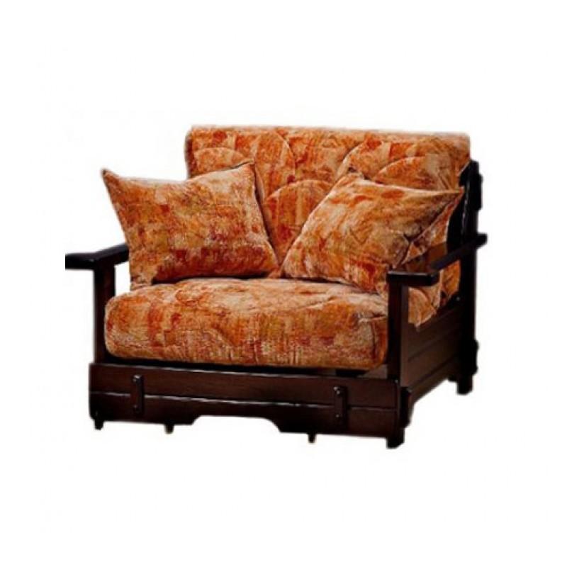 Комплект мягкой мебели Япет с деревянными подлокотниками (фото 6)