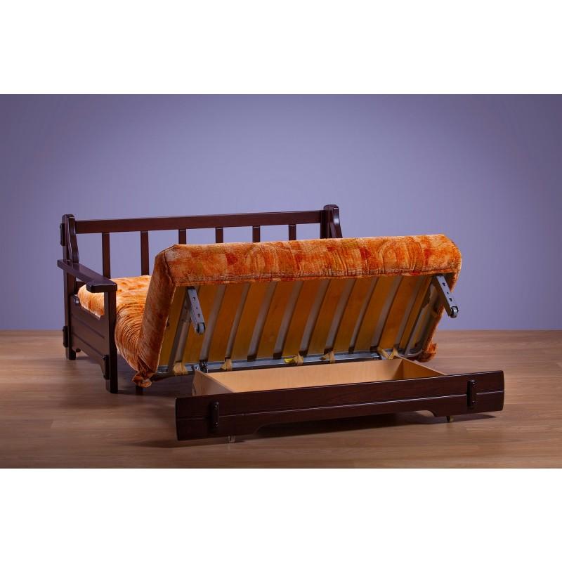 Комплект мягкой мебели Япет с деревянными подлокотниками (фото 7)