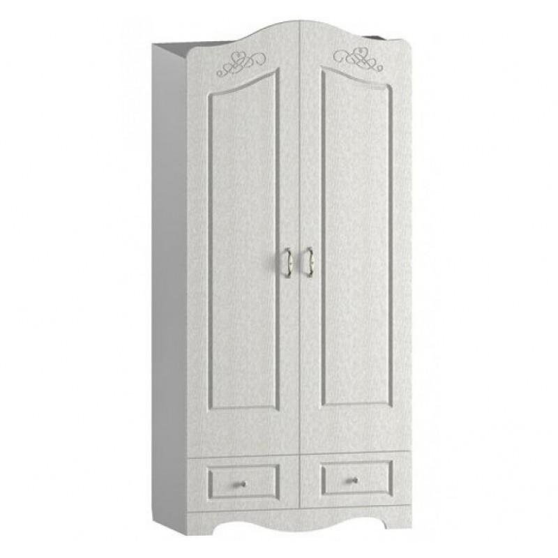 Шкаф для одежды и белья двухстворчатый Купидон