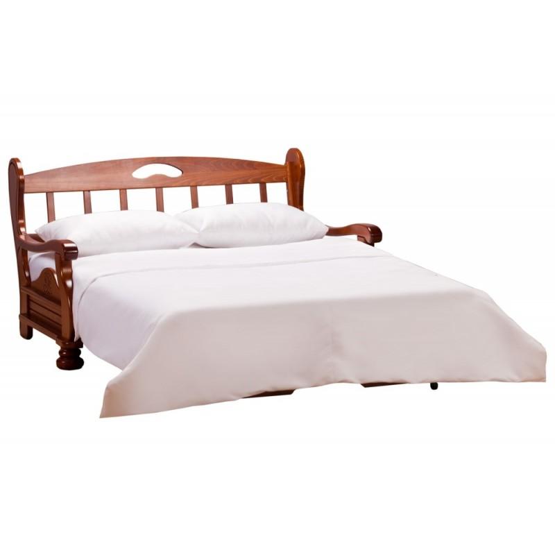 Комплект мягкой мебели Милан с деревянными подлокотниками (фото 4)