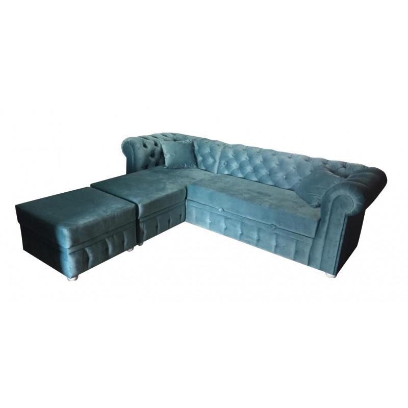 Угловой диван Честер (фото 7)