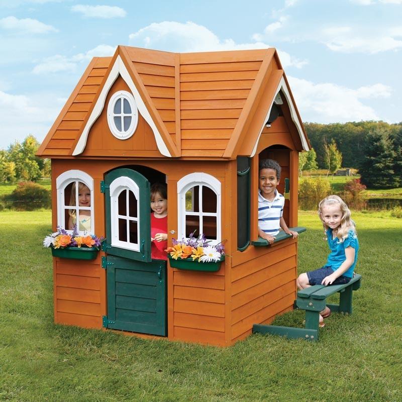 Цветочный Домик деревянный Solowave Design