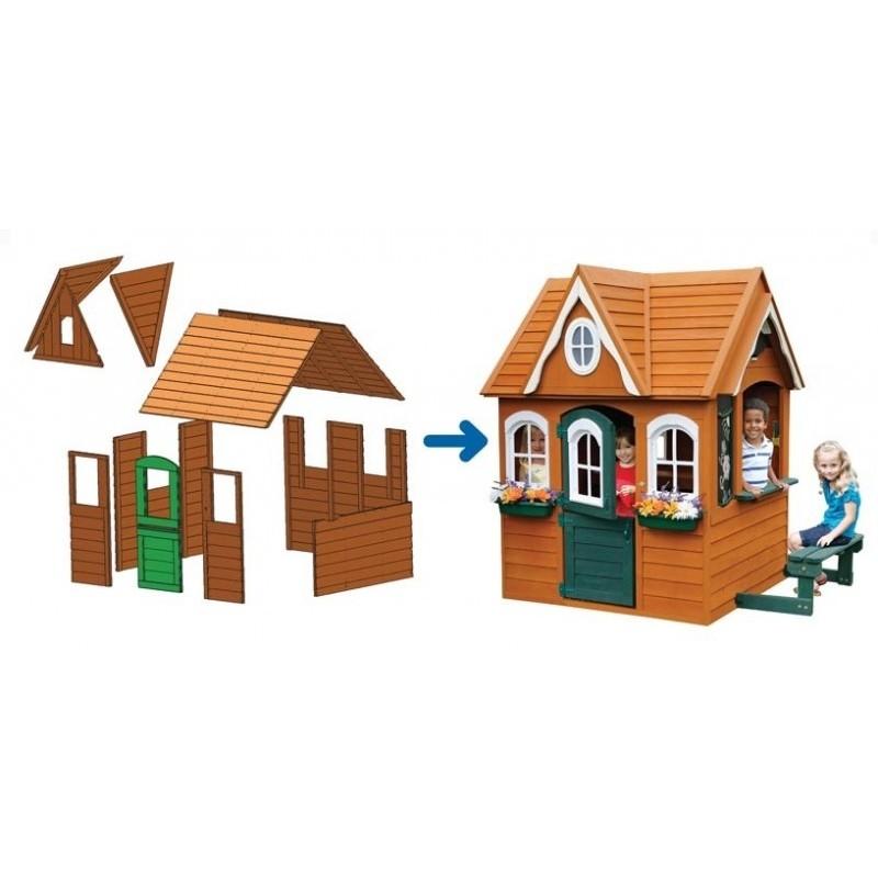 Цветочный Домик деревянный Solowave Design (фото 2)