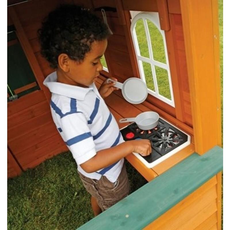 Цветочный Домик деревянный Solowave Design (фото 3)