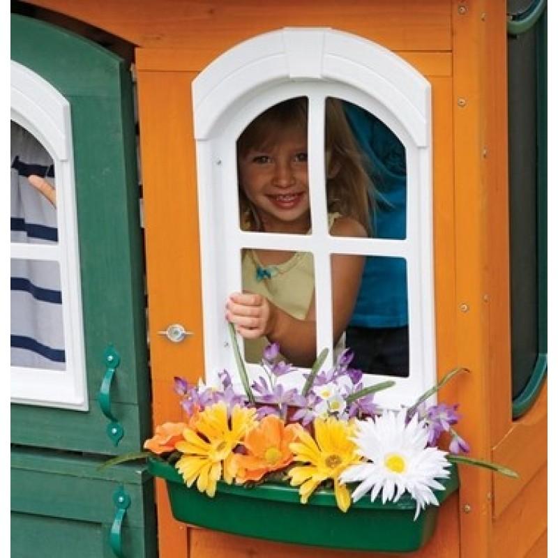 Цветочный Домик деревянный Solowave Design (фото 6)