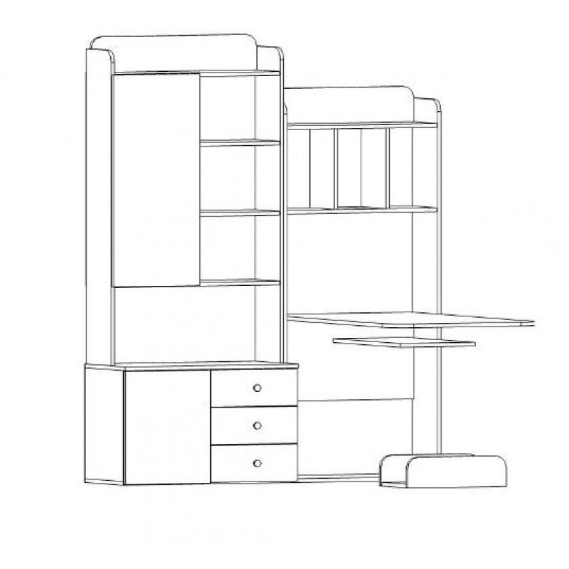 Компьютерный стол Мебелайн-20 (фото 2)