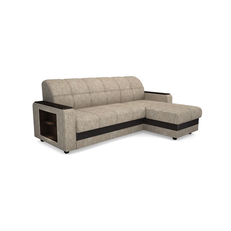 Угловой диван Виза 01 П с оттоманкой (фото 3)