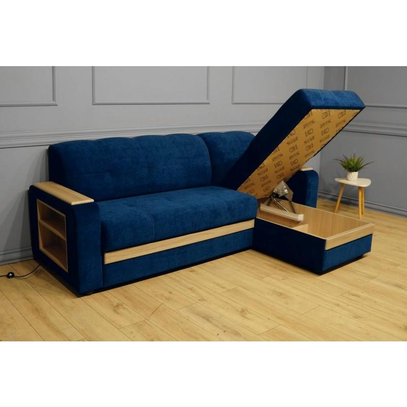Угловой диван Виза 01 П с оттоманкой (фото 6)