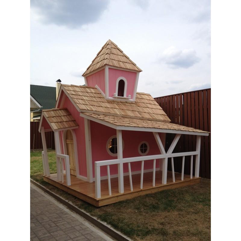 Двухэтажный домик принцессы KidsCrookedHouse (фото 2)