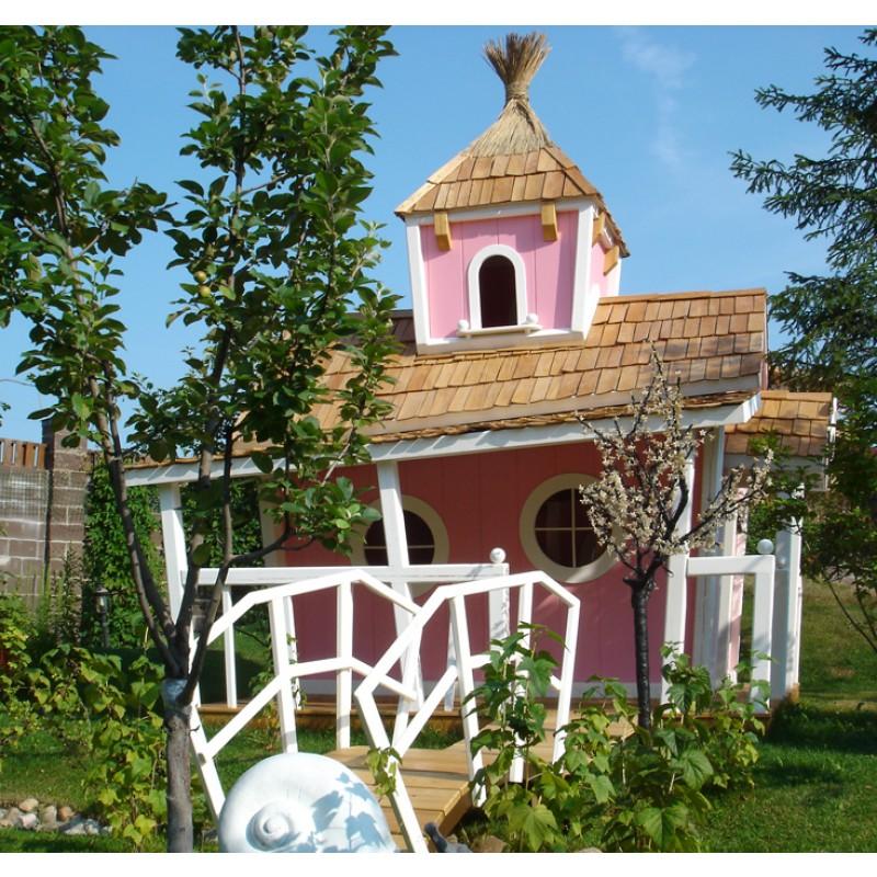 Двухэтажный домик принцессы KidsCrookedHouse (фото 4)