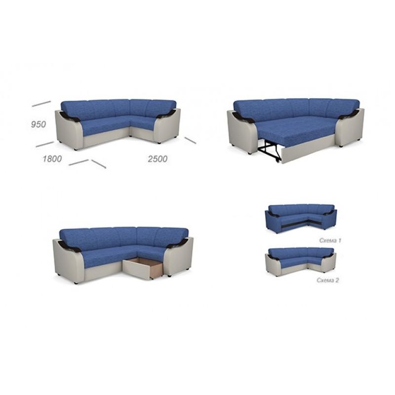 Угловой диван Виза 04 (фото 10)