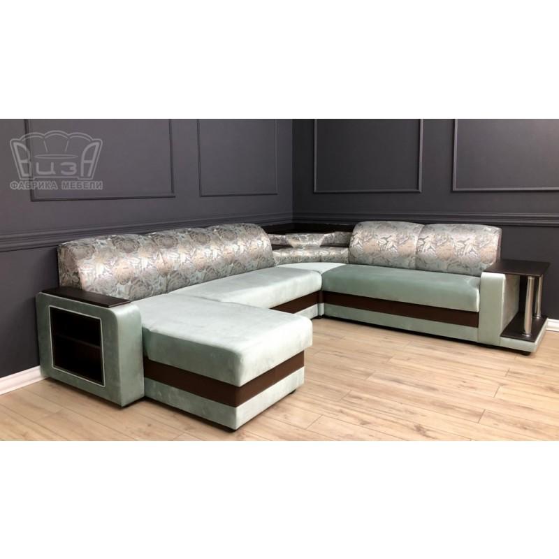 Угловой модульный диван Виза 01 (фото 2)