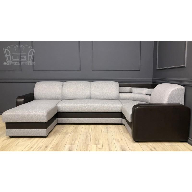 Угловой модульный диван Виза 01 (фото 3)