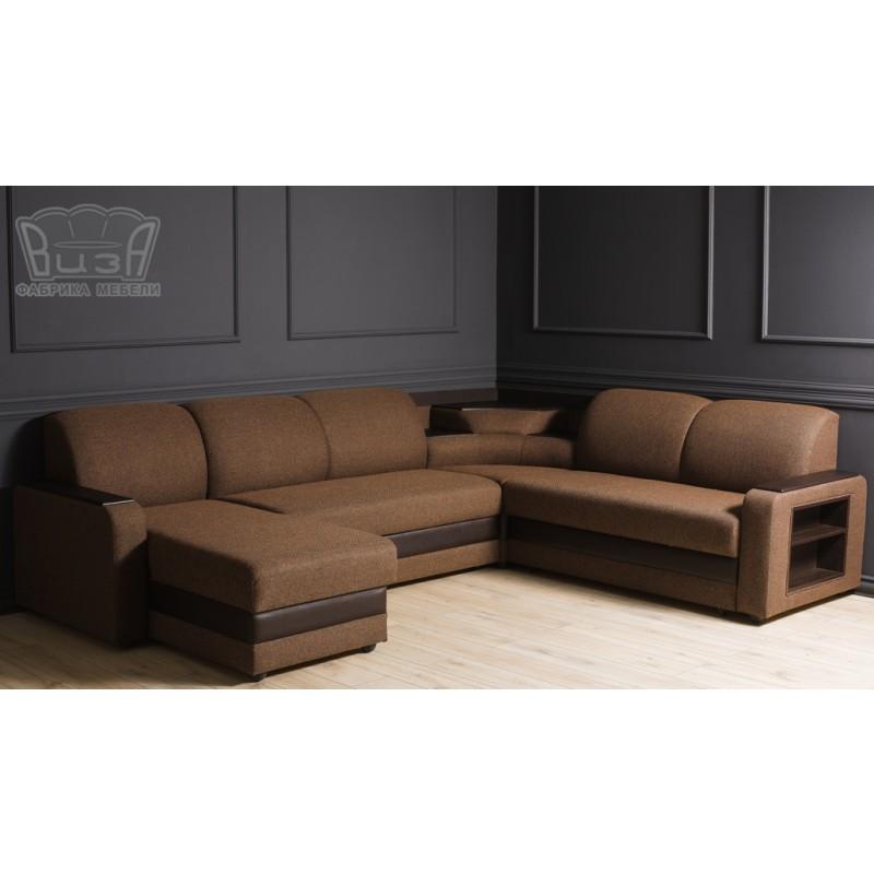 Угловой модульный диван Виза 01 (фото 6)