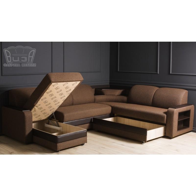 Угловой модульный диван Виза 01 (фото 7)